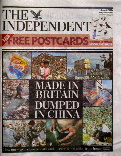 Made in Britain, Dumped in China - Independent
