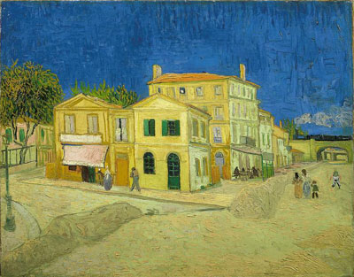The Yellow House by Van Gogh
