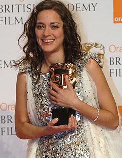 Marion Cotillard 获得最佳女主角奖