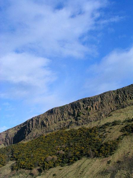 Salisbury Crags Edinburgh
