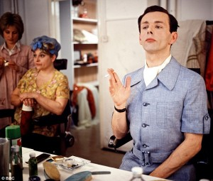 Michael Sheen as Kenneth Williams in Fantabulosa! (2006)