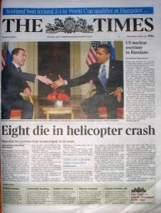 2009-04-04 Times Scotland Edition