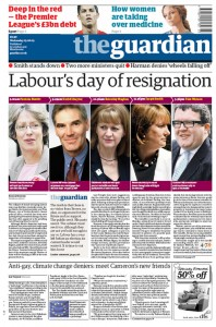 2009-06-03 Guardian front page