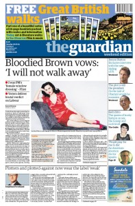 2009-06-06 Guardian front page