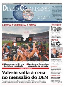 2009-12-07.Diario Catarinense, Brazil