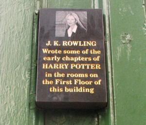 Edinburgh. JK Rowling