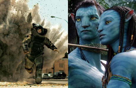2010-02-02. Avatar and The Hurt Locker
