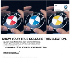 2010-04-01. BMW April Fool ads
