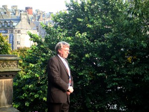 2010-08-27.Princes St Garden, Raymond Snoddy