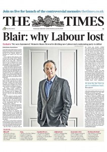 2010-09-01.UK The Times, Tony Blair The Journey