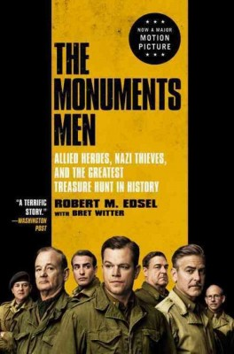 书名:《古迹卫士》(The Monuments Men) 作者:罗伯特•埃德塞尔(Robert M. Edsel) 出版社:Arrow 再版时间:2014年2月
