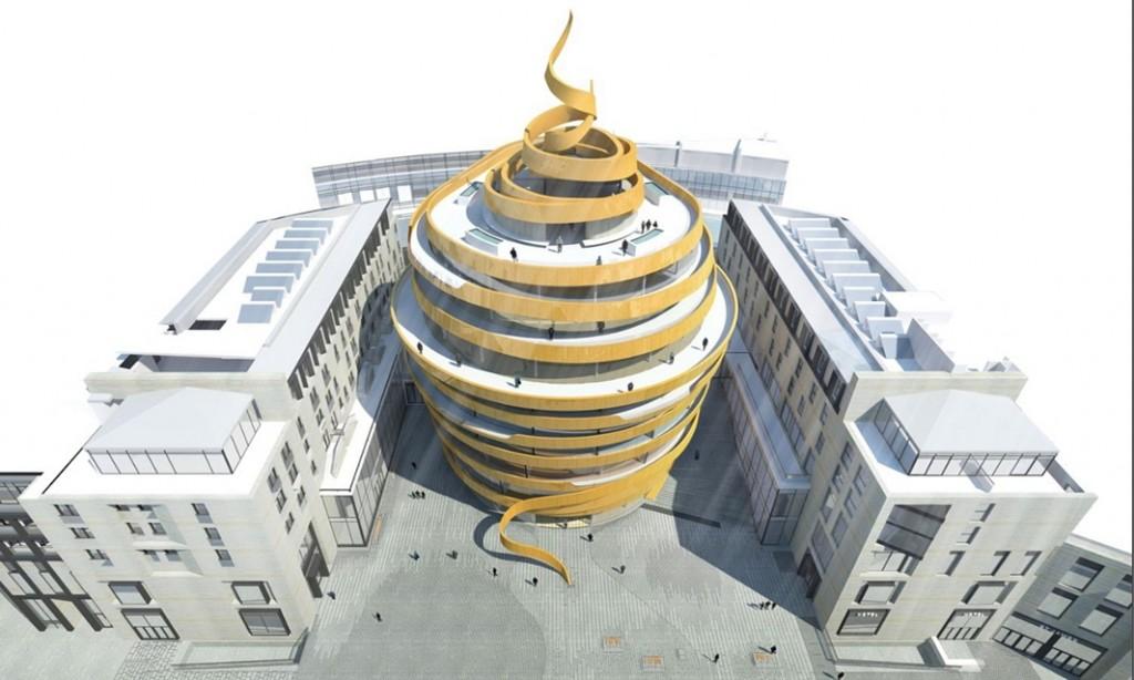 新建St James的设计图