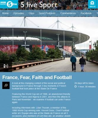 France, Fear, Faith and Football