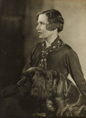 Hilda Matheson,伦敦国家肖像美术馆收藏,摄影Howard Coster