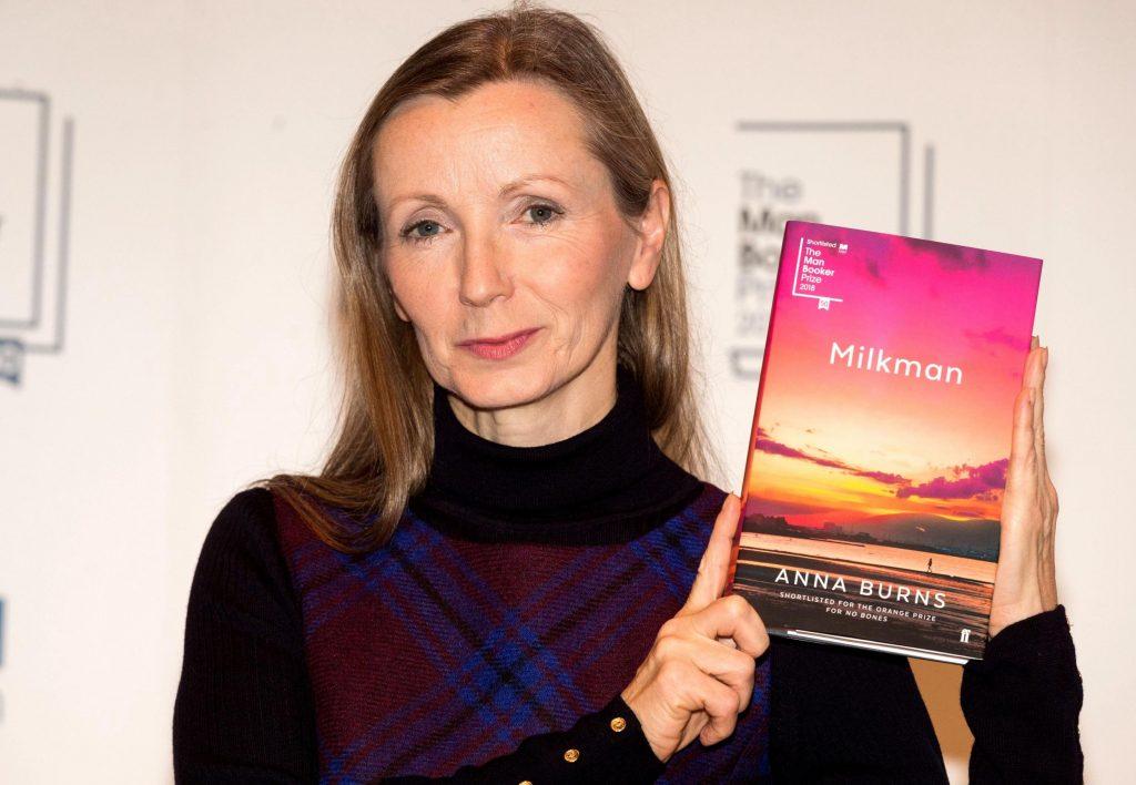 Anna Burns 的 Milkman 获2018年英国小说布克奖