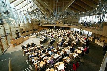 苏格兰议会辩论厅