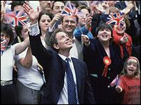 Tony Blair in 1997 election