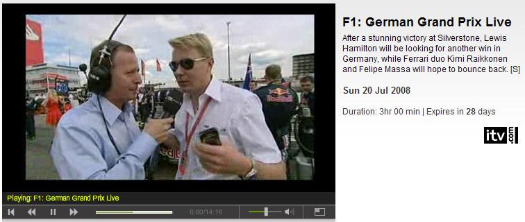 ITV F1
