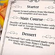 jamie oliver menu