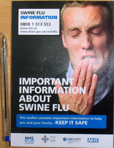 NHS Swine flu booklet