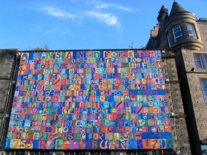 edinburgh 2009-08-2011024 The Burns Banner