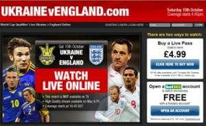 2009-10-17 Ukraine v England online