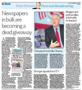 2009-10-19 Peter Preston on Observer