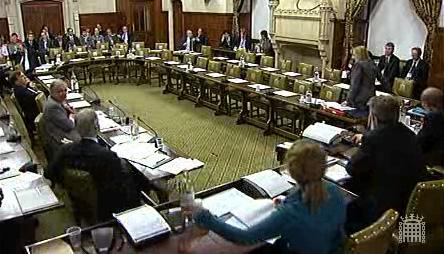 2009-10-21 Parliament debate on English laws affect parliament proceding