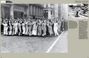 2009-11-12. New York National Humiliation Day parade 1938. 100 Years of Press Photos