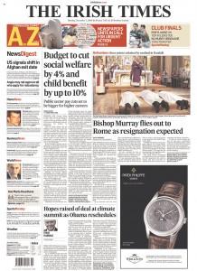 2009-12-07.Irish Times, Ireland