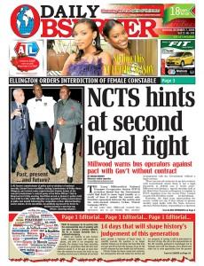 2009-12-07.Jamaica Observer, Jamaica