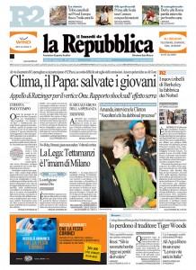 2009-12-07.La Repubblica, Italy