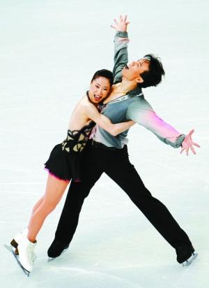 2010-02-16.Shen Xue, Zhao Hongbo at Vancouver Olympics 2010