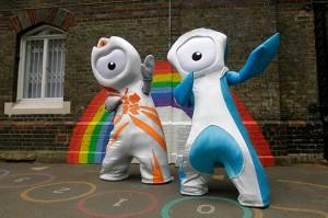 2010-05-20. London Olympics 2012 Mascots