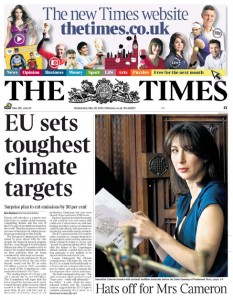 2010-05-26. The Times p1