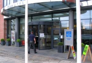 连锁酒店 Novotel 用作投票站