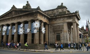 2010-07-31. Royal Academy of Scotland, Impressionist Garden