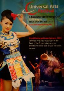 2010-08-18. Universial Arts Festival 2010 at Edinburgh Fringe