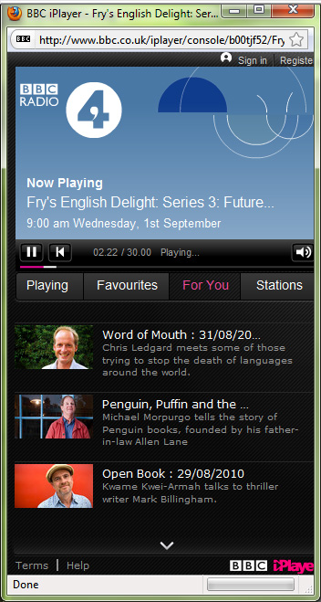 2010-09-07.iPlayer For You
