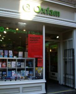 2010-09-11.Oxfam Book Store at Nicolson Street Edinburgh