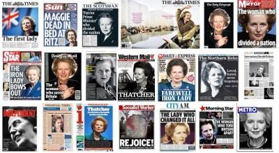 2013年4月9日星期二英国报纸的头版