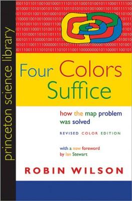 书名:《四色足够》(Four Colors Suffice) 作者:罗宾•威尔逊(Robin Wilson) 出版社:普林斯顿大学 出版时间:2013年11月