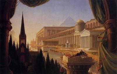 《建筑师之梦》(The Architect's Dream),Thomas Cole 作品