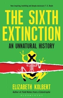 书名:《第六次大灭绝》(The Sixth Extinction) 作者:伊丽莎白•科尔伯特(Elizabeth Kolbert) 出版社:Bloomsbury 出版时间:2014年2月