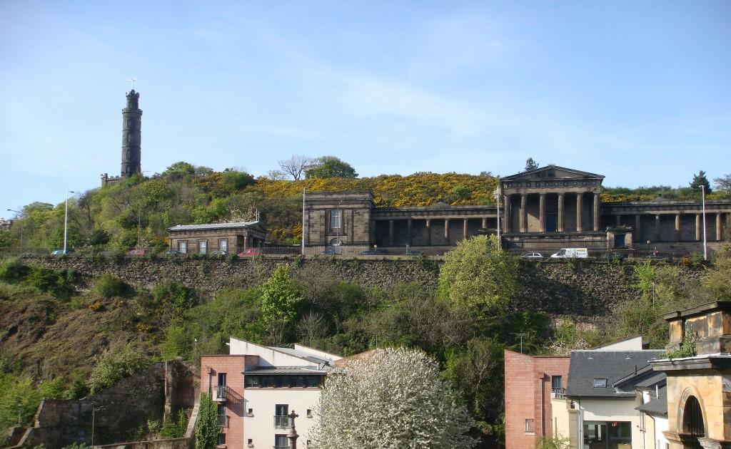 皇家高中旧址现在的样子,从Royal Mile看过去。