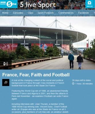 France, Fear, Faith and Football