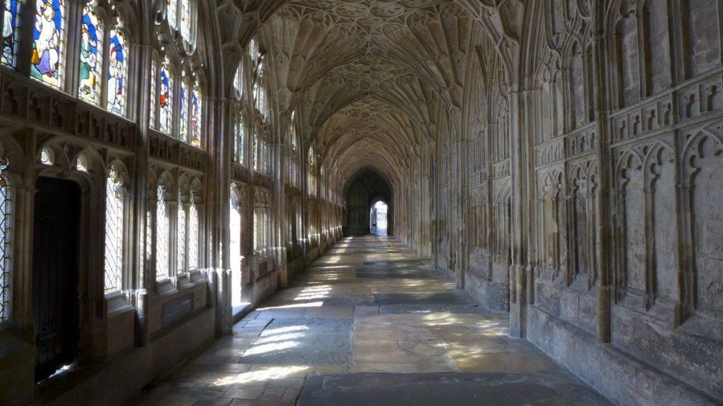 格洛斯特大教堂的迴廊曾用来拍摄《哈利波特》