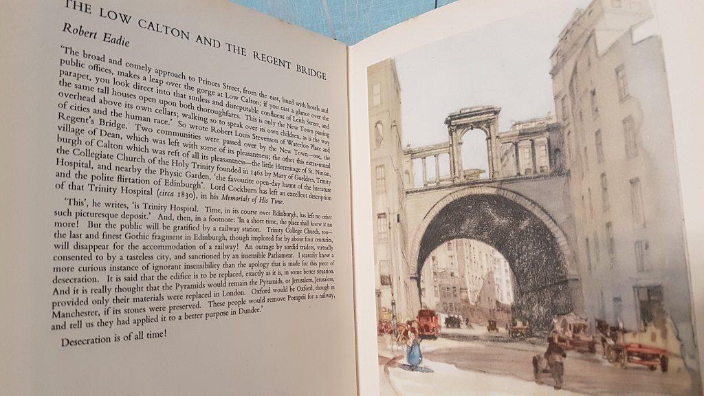 The Low Calton and the Regent Bridge