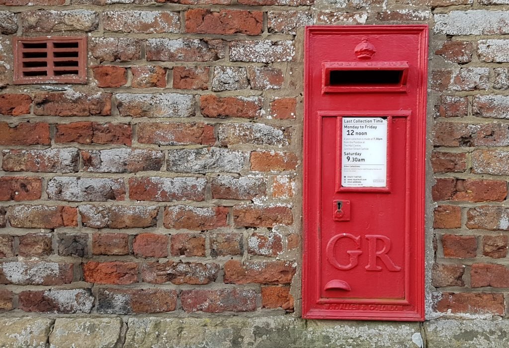 GR墙上邮筒